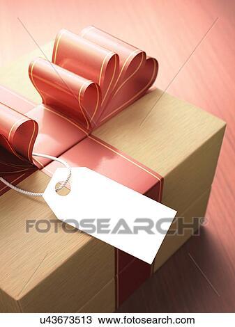 dessin bois bo te cadeau arc rouge et vide cadeau tag u43673513 recherchez des. Black Bedroom Furniture Sets. Home Design Ideas