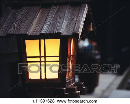 Immagini giardino giapponese lanterna vista laterale for Accessori giardino giapponese