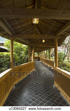 Immagine immagine di uno tradizionale giapponese for Architettura tradizionale giapponese