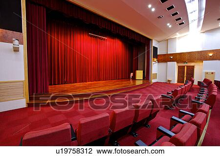 Stock Photo Of Close Up Of Interior Design Of Lecture Hall