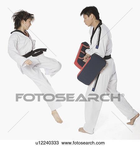 Karate Instructor Clip Art
