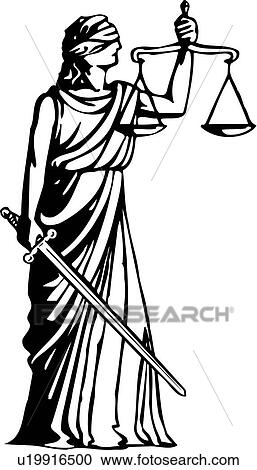 clipart of justice, blind, blindfold, scale, scales, law, fair