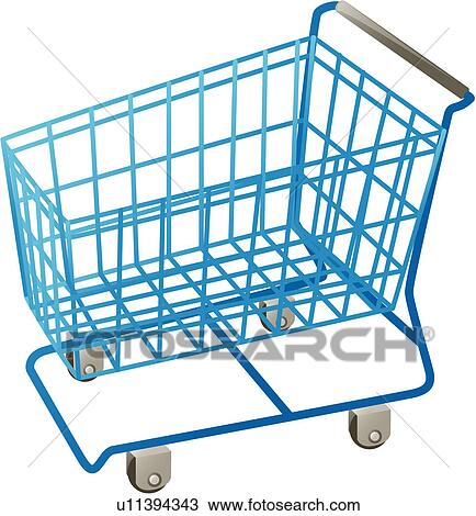 Clipart of shopping cart, kitchen item, house item, logo ...