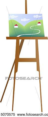 clipart peignant mat riel peinture art kit art kits. Black Bedroom Furniture Sets. Home Design Ideas