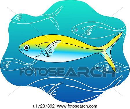 Clipart vertebrato pesce tropicale mare fish mare for Clipart mare