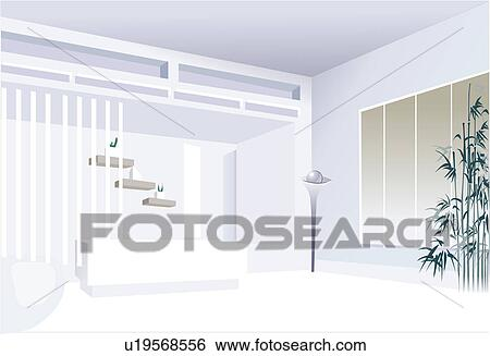 Clip Art Of Home Decorating Well Being Indoors Decor Home House