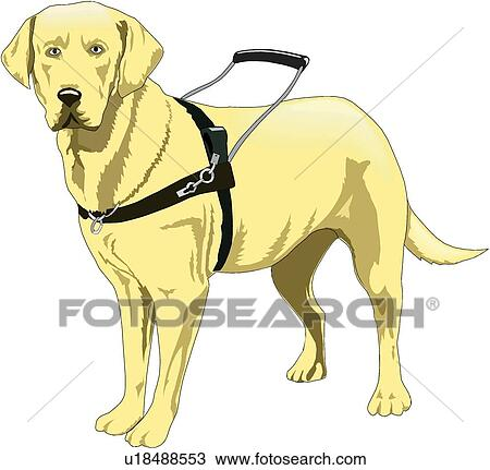 Clipart Service Dog Clipart Guide Dog