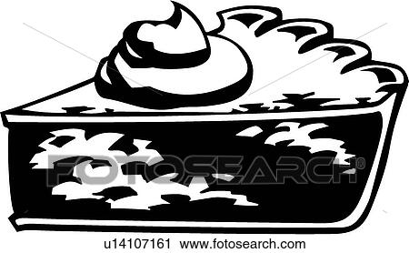 Pie Slice Clipart Black And White Clipart Pie Slice