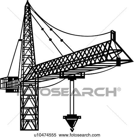Clip Art Crane Clip Art clipart of crane operator op search clip art illustration crane