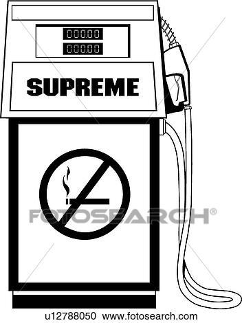 Clipart of Gas Pump u12788050 - Search Clip Art, Illustration ...