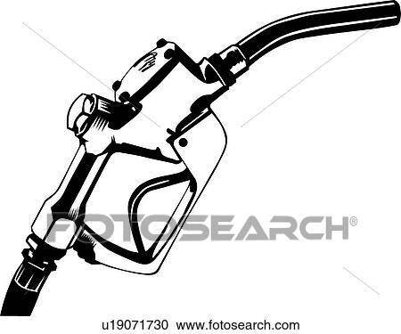 Clipart of Gas Pump u19071730 - Search Clip Art, Illustration ...