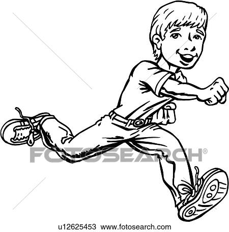 Clipart of Action Kid05 u12625453 - Search Clip Art, Illustration ...