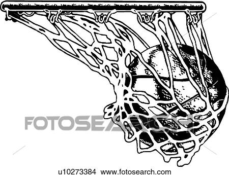 net clipart black and white. basketball net clipart black and white