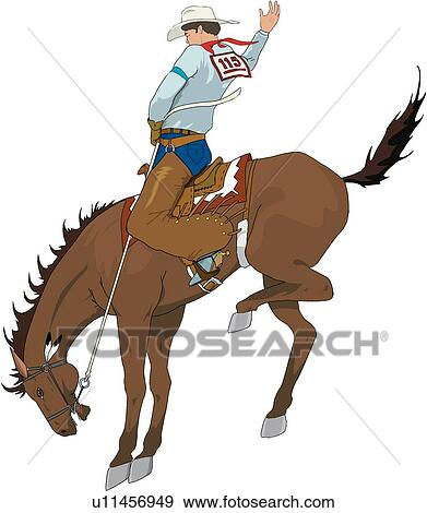 Rodeo Clipart EPS Images. 2,667 rodeo clip art vector ...