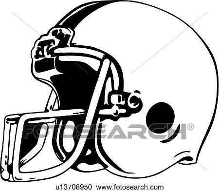 Clipart - casco football u13708950 - Cerca Clipart ...