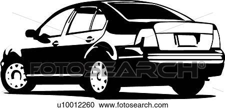 clipart of vw jetta u10012260 search clip art