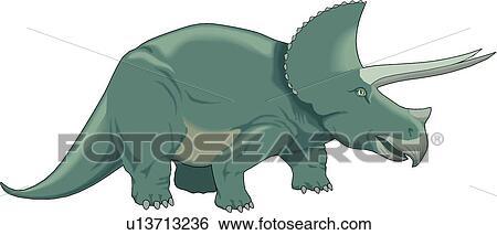 剪贴画 恐龙