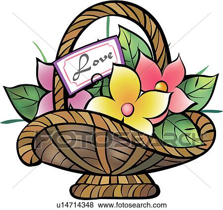 Clip Art Of Flower Products Object Plants Plant