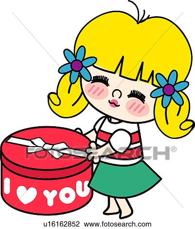 Clipart of one person, valentineday, person, people, heart ...