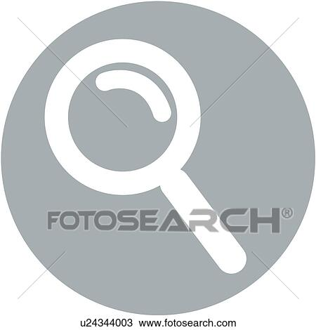 Clipart of site, search, homepage, magnifier, magnifying glass ...