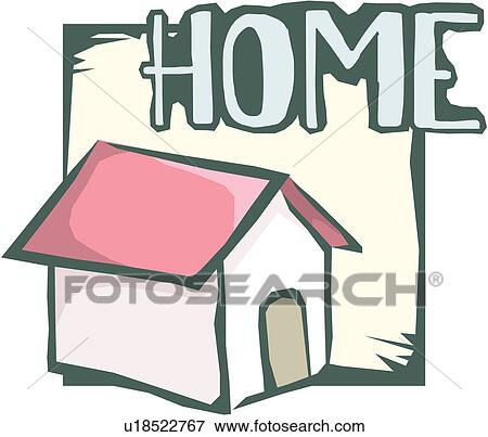 Clip Art of business, home, web, site, homepage, cyberspace, icon ...