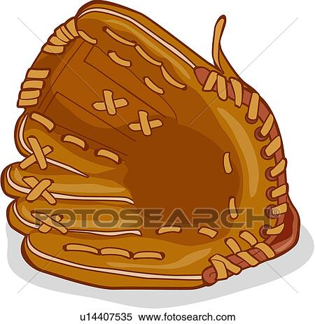 Clip Art Baseball Mitt Clipart baseball glove clip art illustrations 1865 ball games sports equipment sport goods valueclips art