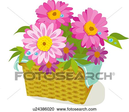 Decoration Flowers Drawings Floral Decoration Flower