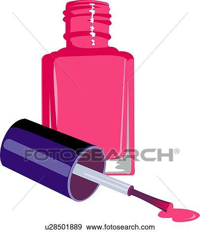 clip art of manicure varnish beauty care make up beauty rh fotosearch com manucure clipart free manicure clip art free