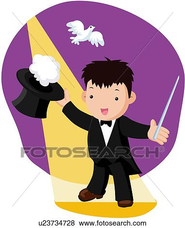 Magic show Clipart Vector Graphics. 3,092 magic show EPS clip art ...