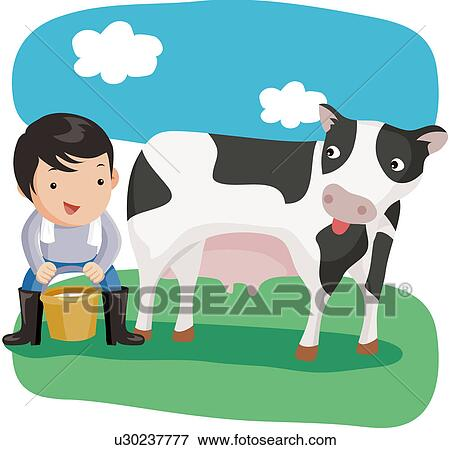 Milk Cow Clipart Milk Cow Cow Animal