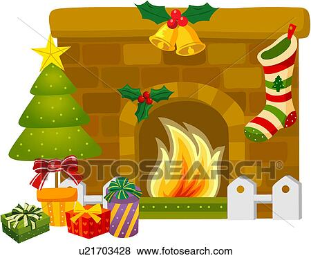 Fireplace Clipart Vector Graphics. 3,713 fireplace EPS clip art ...