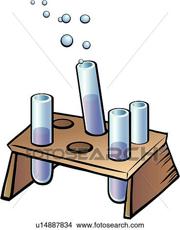 Clipart of labware, object, experiment, science, cylinder, lab ...