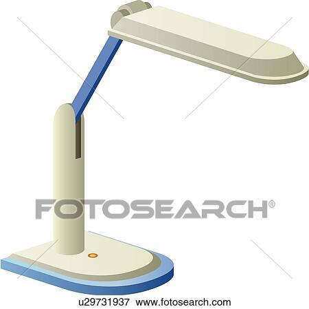 Schreibtischlampe clipart  Clip Art - beleuchtung, schreibtischlampe, licht, lampe, lampignon ...