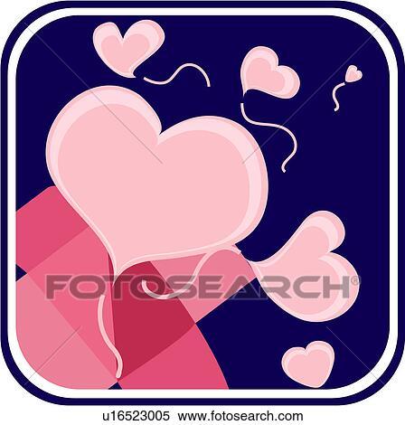 Clipart c ur signe marque amour cadeau u16523005 - Clipart amour ...