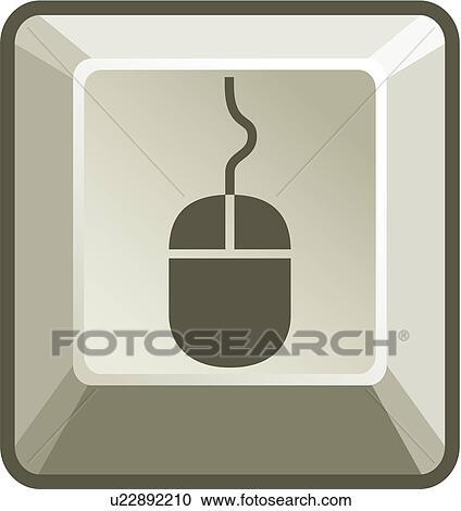 Clipart souris ordinateur bouton u22892210 recherchez - Souris ordinateur dessin ...