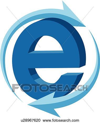 Clipart of Internet e u28967620 - Search Clip Art ...