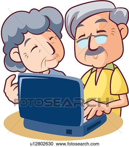 Clip Art Older Adults