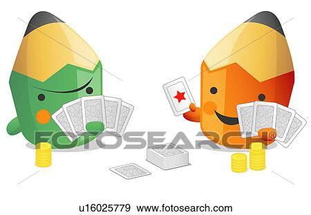 Deck cards Clipart Royalty Free. 2,496 deck cards clip art vector ...
