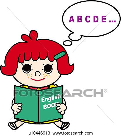 clipart of holding schoolkid class reading english school rh fotosearch com free english class clipart English Class Memes