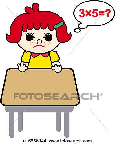 Tisch schule clipart  Clipart - not, wissen, schoolkid, multiplikation, tisch, mathe ...