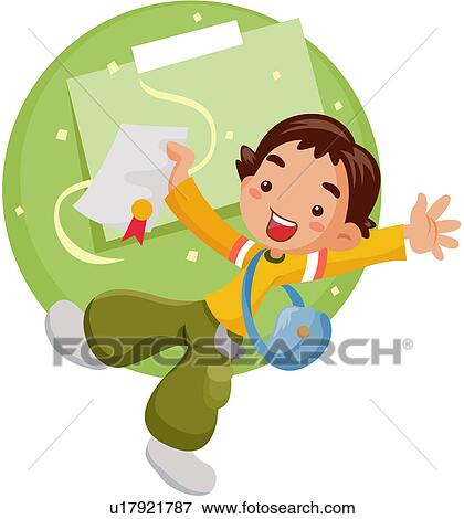 Clip Art of youth culture, college, excitement, fresh, university ...