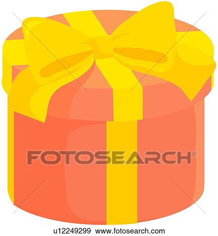 Clip art of object christmas gift box present box present clip art object christmas gift box present box present fotosearch negle Choice Image
