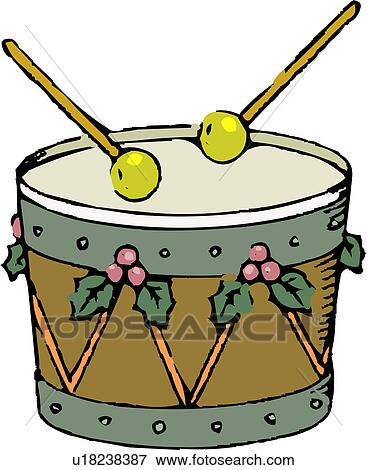 Clip Art of holiday, instrument, percussion instrument, musical ...