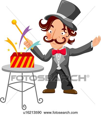 magic show clipart – Etsy