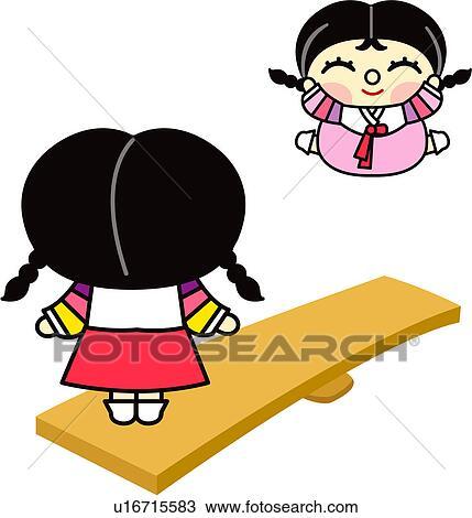 clipart zwei personen m dchen person leute koreanisch kleid frau u16715583 suche clip. Black Bedroom Furniture Sets. Home Design Ideas