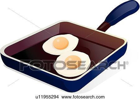 Clipart of Food icon, icons, Cooking, Fry, frying pan ...