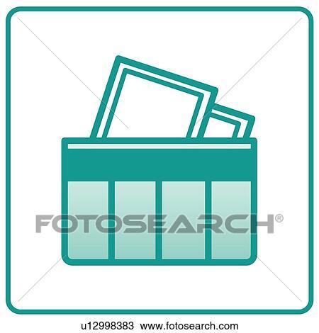 Bürobedarf clipart  Clipart - büromaterial, heiligenbilder, dokument, dokumente ...