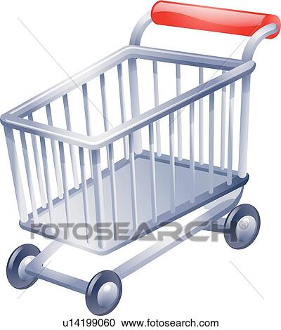 Clipart of Kitchen stuff, icons, Household, shopping cart ...
