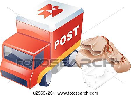 Clipart Automobili Icone Automobile Ufficio Postale