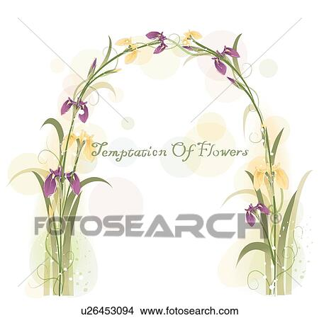 Clipart of background flowers irises iris floral background clipart background flowers irises iris floral background flower template pronofoot35fo Image collections
